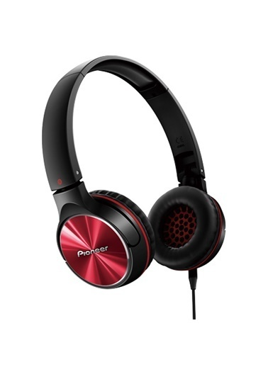 Pioneer SE-MJ532-R Kulaküstü Kulaklık Kırmızı